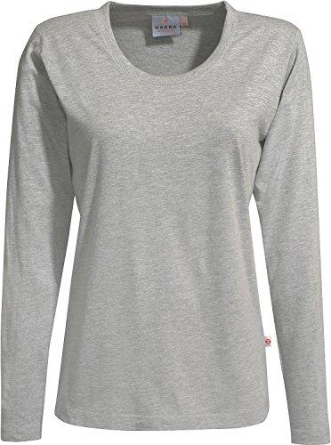 preisvergleich hakro damen langarm t shirt classic 178 grau willbilliger. Black Bedroom Furniture Sets. Home Design Ideas