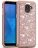 J&D Case Compatible for Galaxy A8 2018 Case, Sparkling