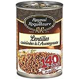 Raynal et Roquelaure lentilles cuisinées à l'Auvergnate 410g (Prix Par Unité) Envoi Rapide Et Soignée