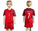 Libros Descargar en linea Top Venta de Portugal 7 Cristiano Ronaldo Home para ninos Kid jovenes Jersey de futbol en rojo Infantil rojo small (PDF y EPUB) Espanol Gratis