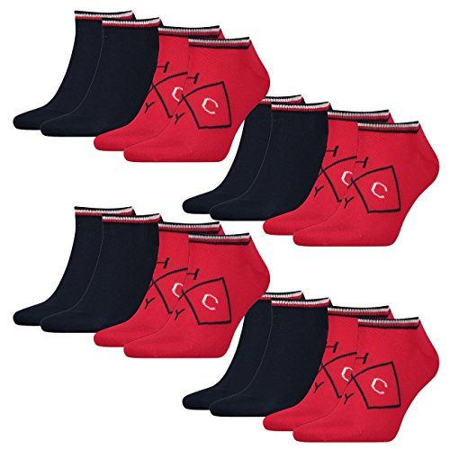 Tommy Hilfiger Herren Sneaker American Heritage 8er Pack, Größe:39-42, Farbe:Tommy Original (085) American Heritage 8