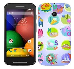 TrilMil Printed Designer Mobile Case Back Cover For Motorola Moto E (1st Gen)