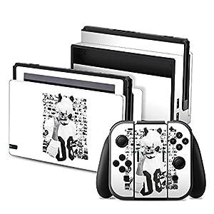 DeinDesign Nintendo Switch Folie Skin Sticker aus Vinyl-Folie Aufkleber Cro Merchandise Fanartikel Polacroid