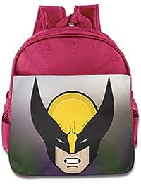 Lobezno superhéroe niños Hisper bolsa para el almuerzo escuela bolsa