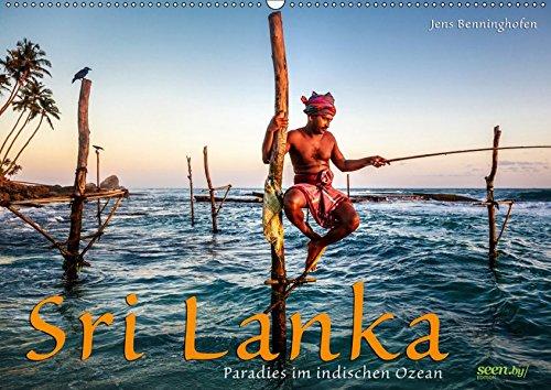Sri Lanka - Paradies im indischen Ozean (Wandkalender 2019 DIN A2 quer): Die ganze Vielfalt Sri Lankas in 12 Fotografien für das ganze Jahr. (Monatskalender, 14 Seiten ) (CALVENDO Orte)