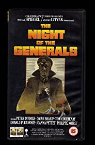The Night Of The Generals (1966) [VHS]