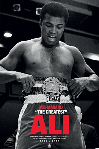 """Muhammad Ali """"cintura Commemorative Maxi Poster, multicolore"""