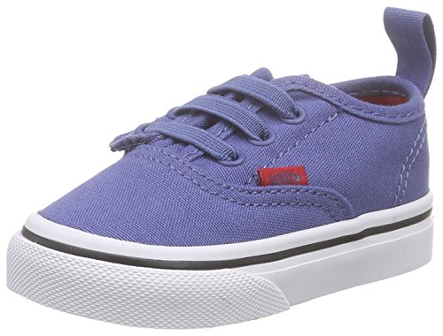 Vans Authentic V Lace, Scarpe Primi Passi Unisex – Bimbi 0-24 Blu (sport Pop/bijou Blue/racing Red)