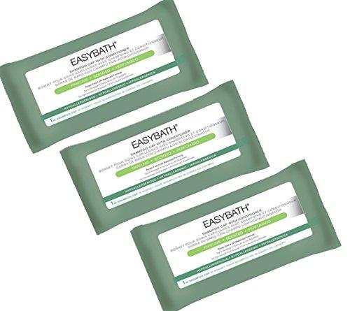 Easybath: Cuffie shampoo e balsamo senza risciacquo