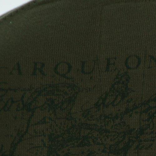 Arqueonautas Herren Strick V-Pullover -Costao do Santinho- in verschiedenen Farben Khaki