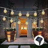 Solar Llight TAOtTAO Solarananas-Licht-Schnur-Glühlampe-runder Ball-Licht-Garten-Licht im Freien