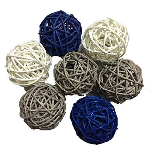 15pcs-mixed-navy-blue-grey-white-decorative-wicker-rattan-ball-nautical-themed-party-wedding-birthda