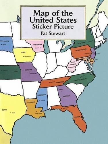 Map of the United States Sticker Picture (Sticker Picture Books) -