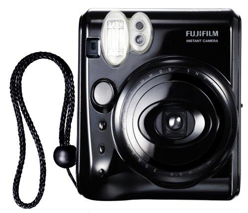 Fujifilm 16102240 Instax Mini 50S CN EX Sofortbildkamera (62 x 46 mm) Piano Black