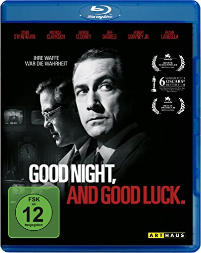Good Night, and Good Luck. [Blu-ray]