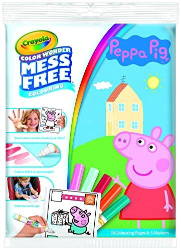 Crayola Peppa Pig Farbwunder - Crayola Magic Coloring Book