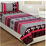 Amk home décor cotton single bedsheet...