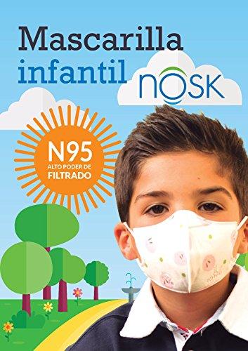 Mascarilla Infantil Nosk 3 Unidades Mascarilla protección