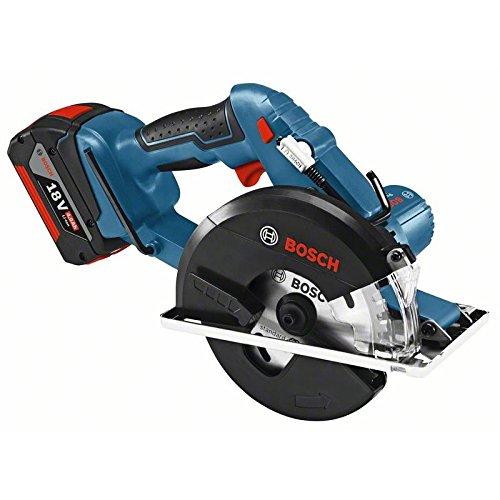 Bosch 06016A4002 Sierra Circular a Batería, Azul