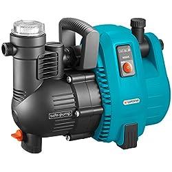 GARDENA Pompe d'arrosage de surface 5000/5 Comfort: pompe d'arrosage, débit de 5000 l/h et longue durée de vie, puissance 1300 W, silencieuse, arrêt de sécurité automatique (1734-20)