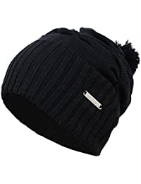 Kenmont Unisexe Hiver Homme en coton mercerisé Beanie Cap Slouch Hat