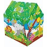 بيت لعب بتصميم كوخ يتيح لعب ممتع في الفناء الخلفي من انتيكس طراز (45642)