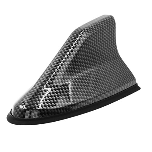 Sourcingmap Fibra Carbono Diseño Aleta Forma Antena