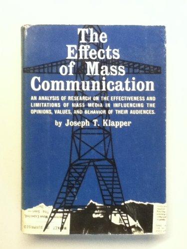 Effects of Mass Communication