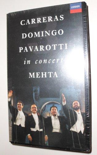 Carreras Domingo Pavarotti in Concert [USA] [VHS]