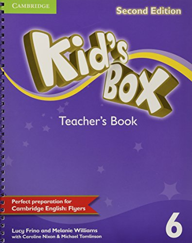 Kid's Box Level 6 Teacher's Book - 9781107654631