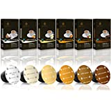 Gourmesso caja de sabores – 120 cápsulas de café compatibles con cafetera Nespresso ®