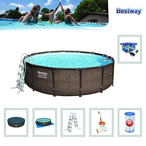 Bestway – Power Steel Frame Pool Deluxe Komplettset - 4