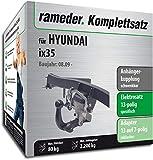 Rameder Komplettsatz, Anhängerkupplung schwenkbar + 13pol Elektrik für Hyundai ix35 (114157-08260-2)