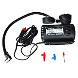 RETYLY 12v Voiture Auto Pompe Electrique Compresseur d'air Portable 300 PSI Gonfleur...