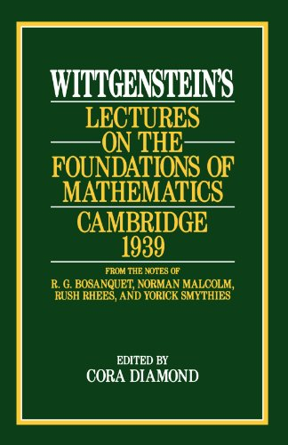 Lectures on the Foundations of Mathematics: Cambridge por Ludwig Wittgenstein