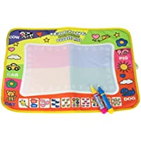 Juguetes para niños,Ouneed 45.5 x 29cm 1PC Dibujo Mat + 2PC mágico Juguete Educativo de Agua Doodle Pluma