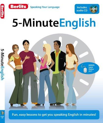 5-Minute English (Berlitz 5-Minute English (W/CD)) por Berlitz Publishing