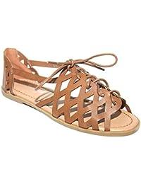 Mr Shoes , Sandales pour femme marron marron