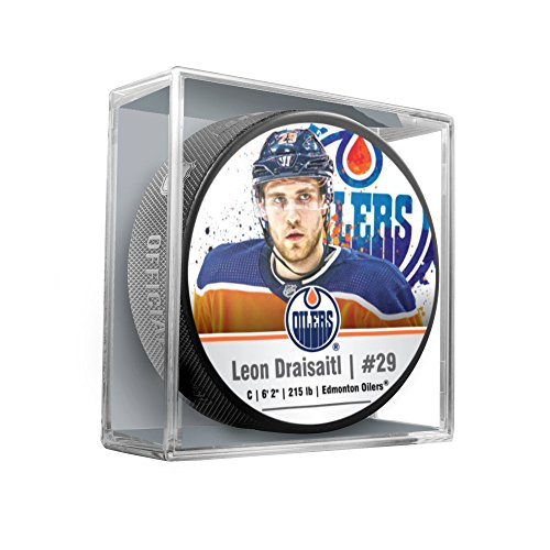 Sher-Wood Leon Draisaitl Edmonton Oilers Star Player NHL Puck
