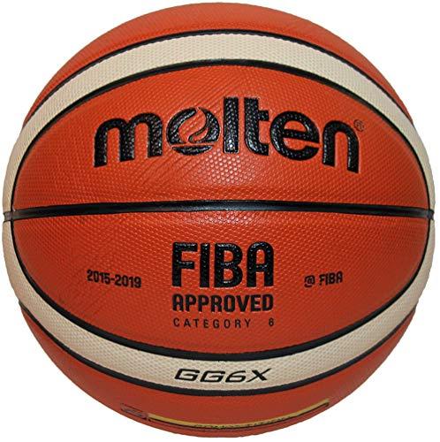 Molten BGGX Ballon de Basket-Ball-Marron Clair - Taille 6
