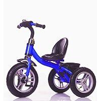 Little Bambino LittleBambino Kids Tricycle | Rubber Air Filled Wheels |Steel Frame | Bottleholder | Storage Bag | Bell | 10 Minute Assembly | Adjustable Chair