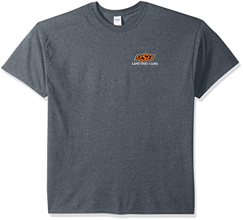 New World Grafiken Oklahoma State NCAA Flagge Glory Short Sleeve, unisex, Oklahoma State Flag Glory, Dunkles Erika