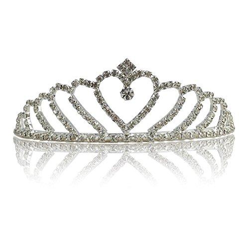 Katara Schmuck Damen oder Mädchen für Hochzeit, Brautjungfern, Kommunion, Konfirmation
