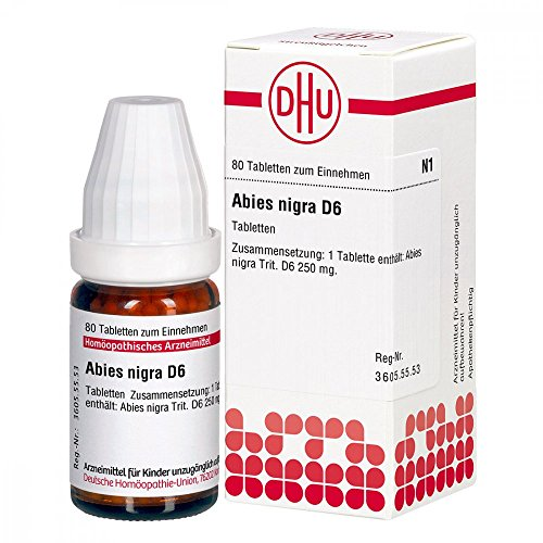 Abies Nigra D 6 Tabletten 80 stk