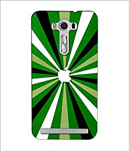 Crazymonk Premium Digital Printed 3D Back Cover For Asus Zen Fone 2 Lazer Ze 550 Kl