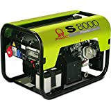 S8000de Thi ISO AVR 400V (7,00kVA) 230V (3,70kVA) Honda GX390+ Service–cupones inclusiv