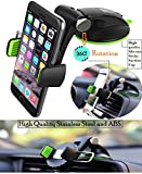 #9: Unifree Universal Silicone Sucker Car Mobile Phone Holder/Car Mount 360° Rotation with Ultimate Reusable Suction Cup for Car Dashboard and Windshield/glass (Best Rated Verified Quality Product)