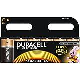 Duracell Plus Power Piles Alcalines type C, Lot de 6