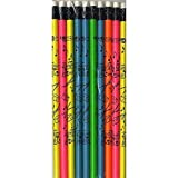 Pencil (Pack of 10): Drums (Neon Colours)