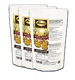 Dr. Almond Plätzchen Backmischung Weihnachtszauber KOKOSMAKRONEN low-carb glutenfrei sojafrei keto (3er Pack) Zuckerfreie Kekse